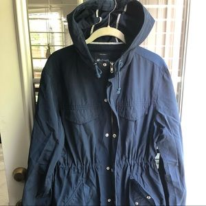 Madewell anorak style light wind/rain jacket